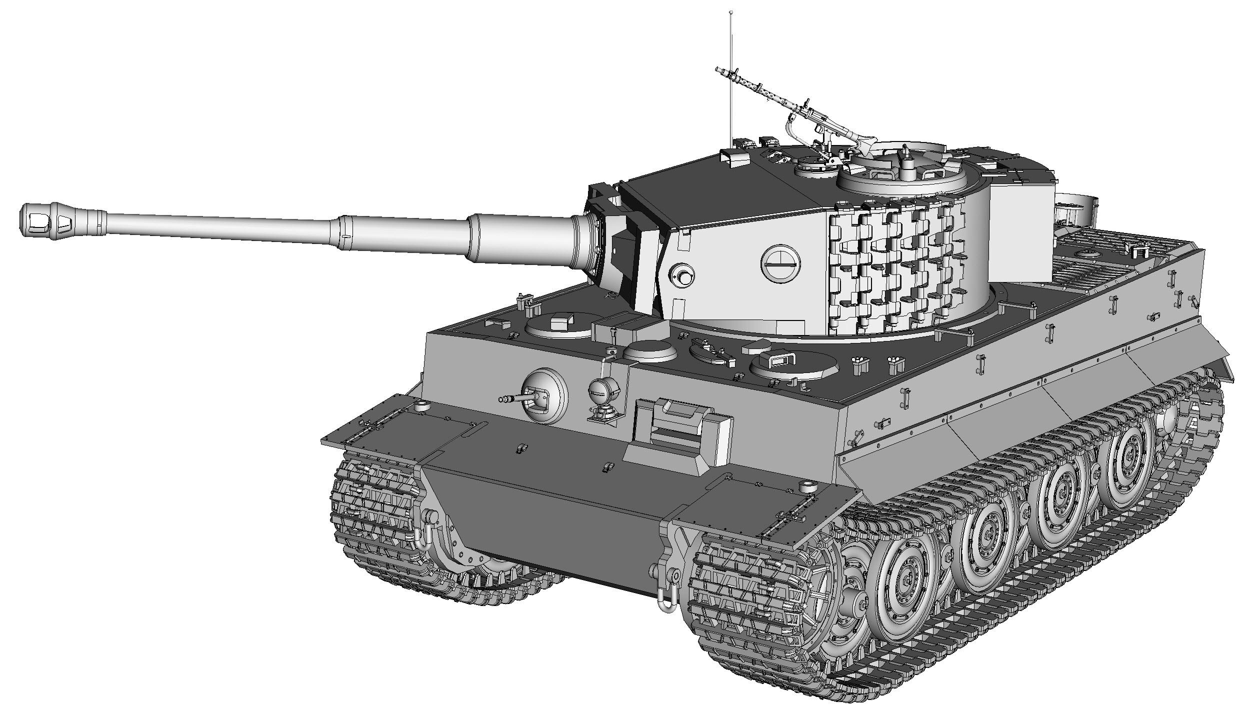 Танк тигр 00