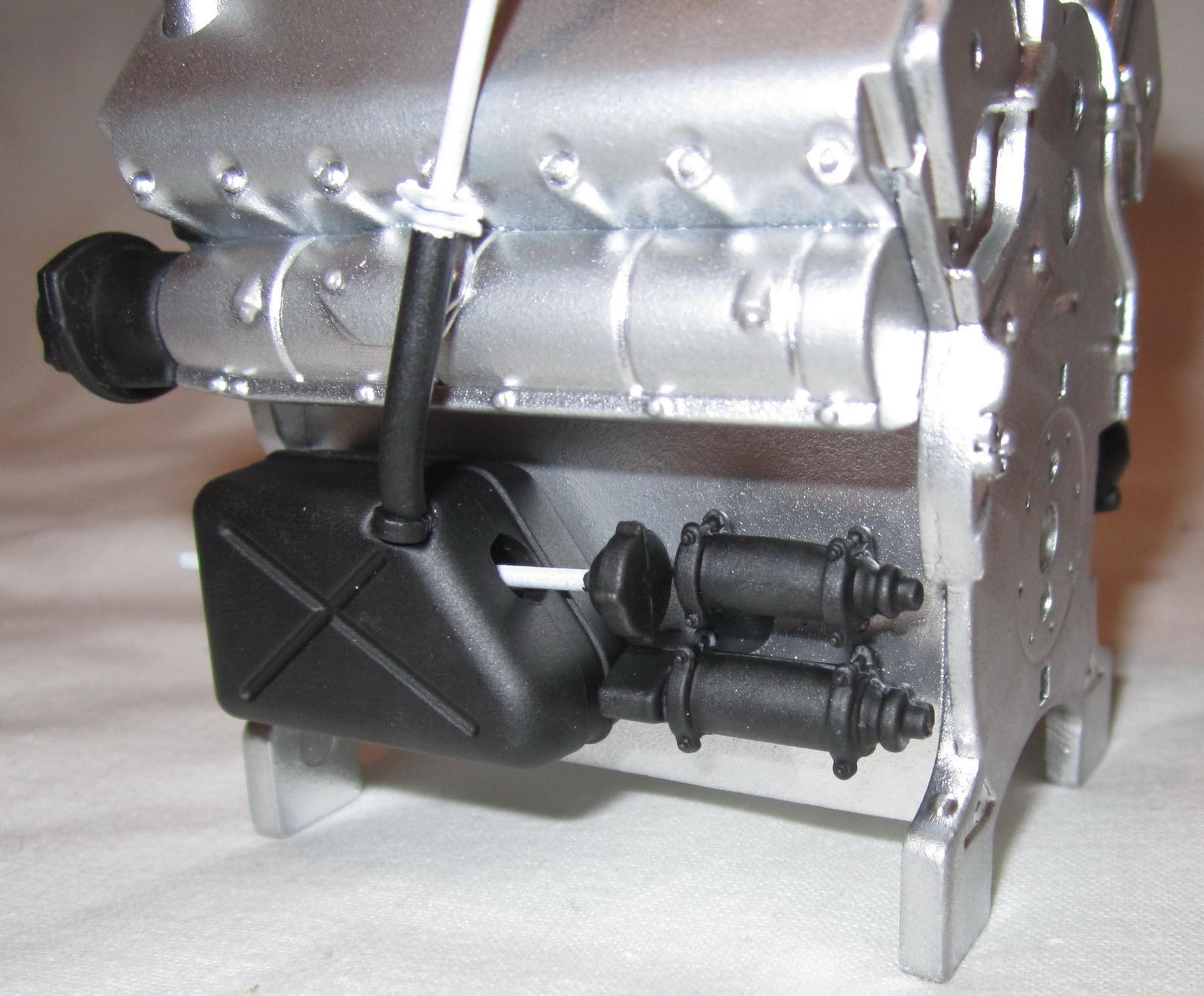 двигатель танка тигр 01