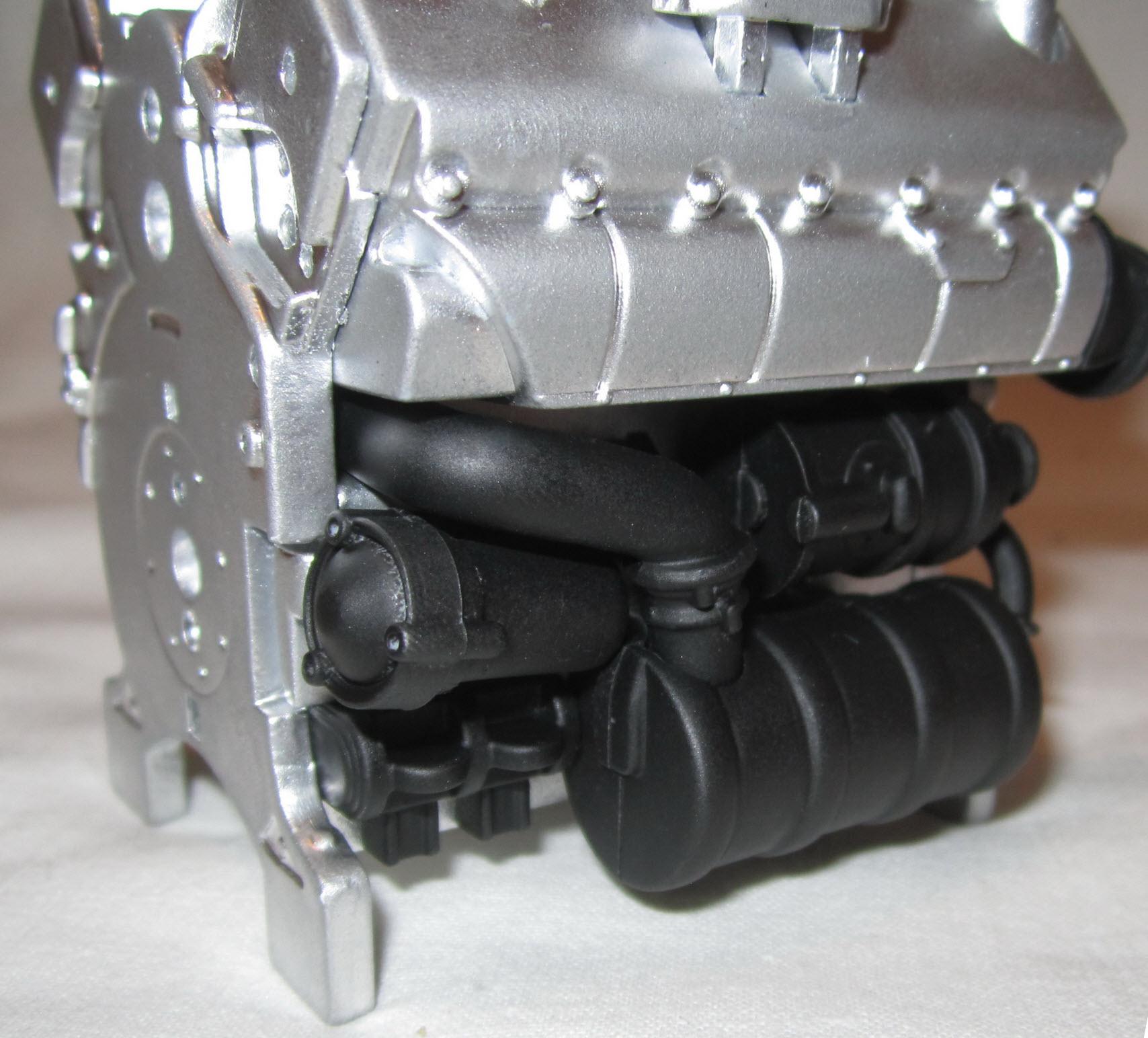 двигатель танка тигр 02