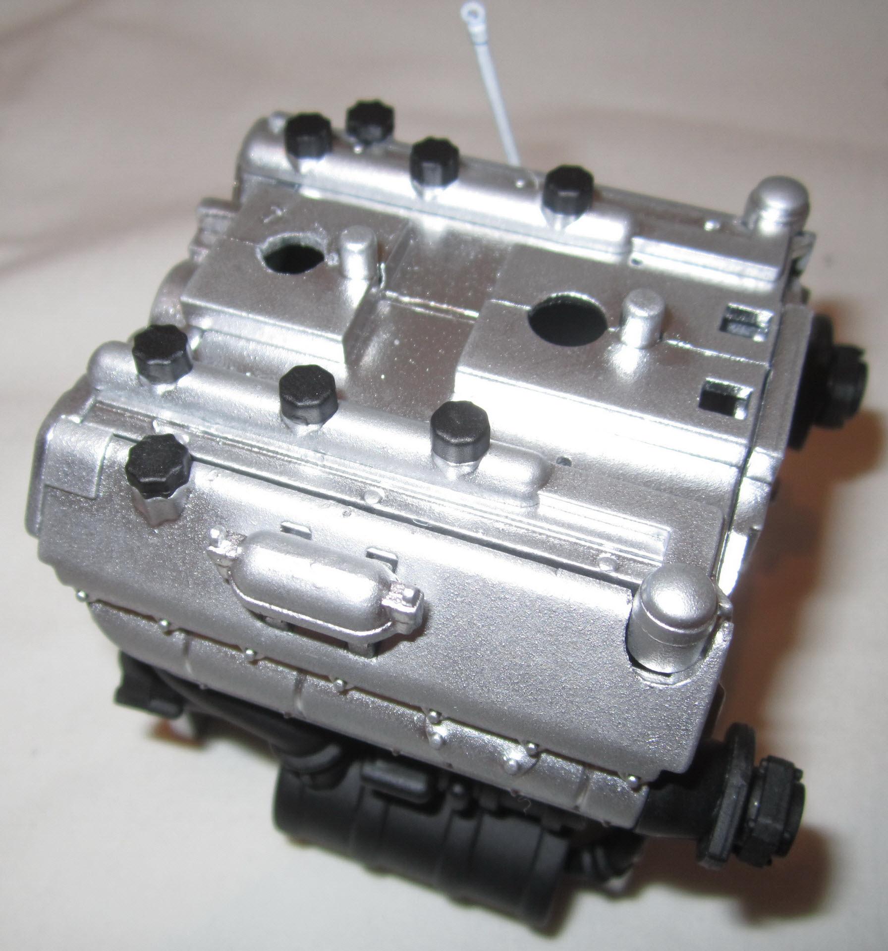 двигатель танка тигр 04