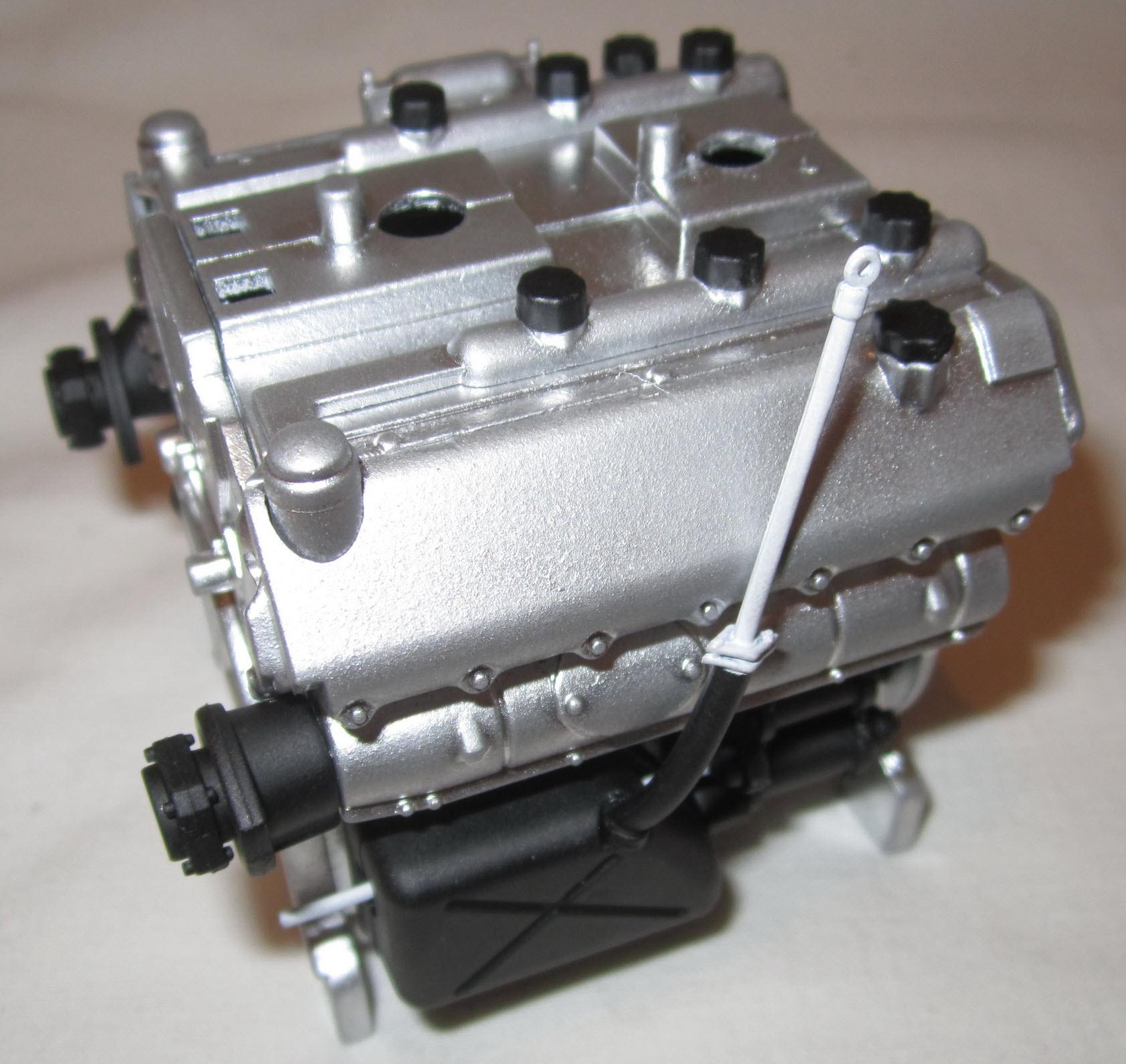 двигатель танка тигр 05