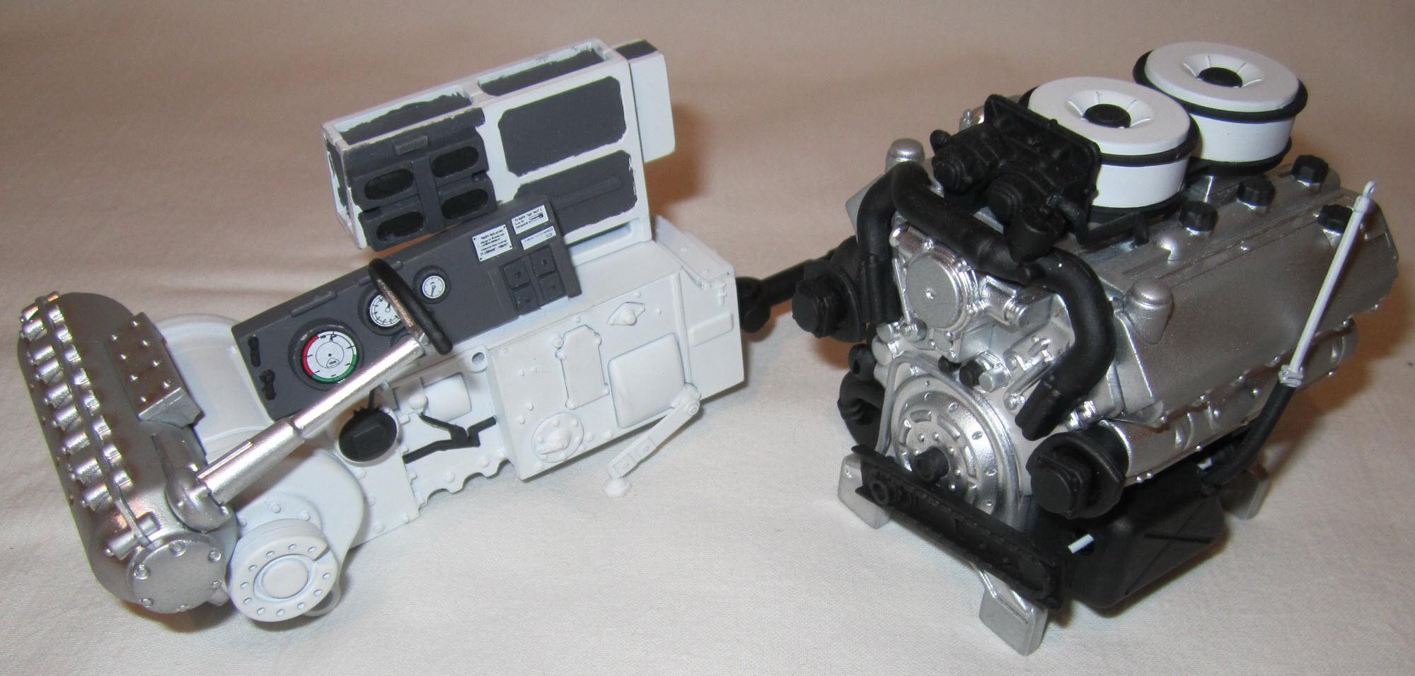 коробка передач и двигатель