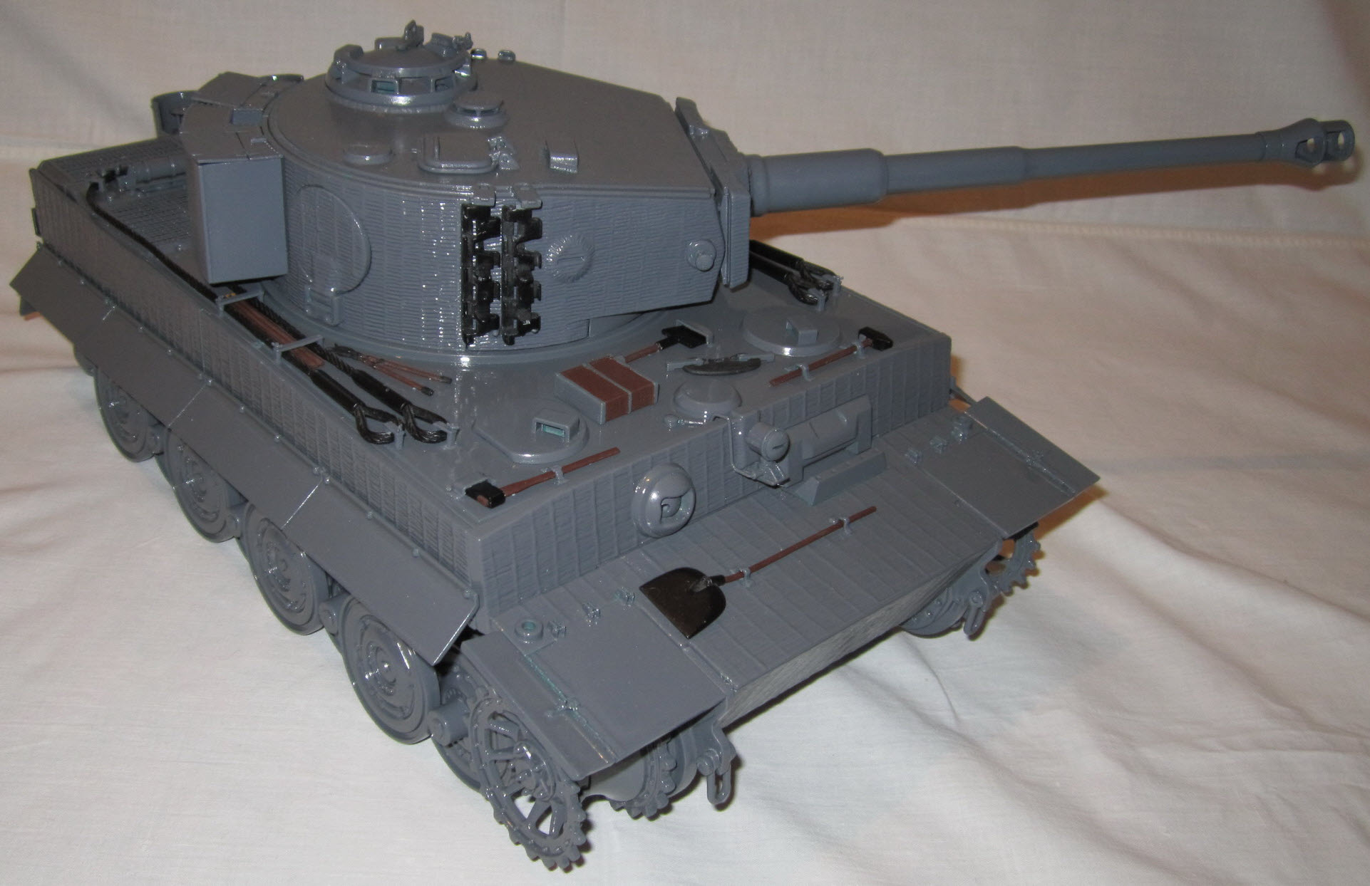 сборка частей модели 01