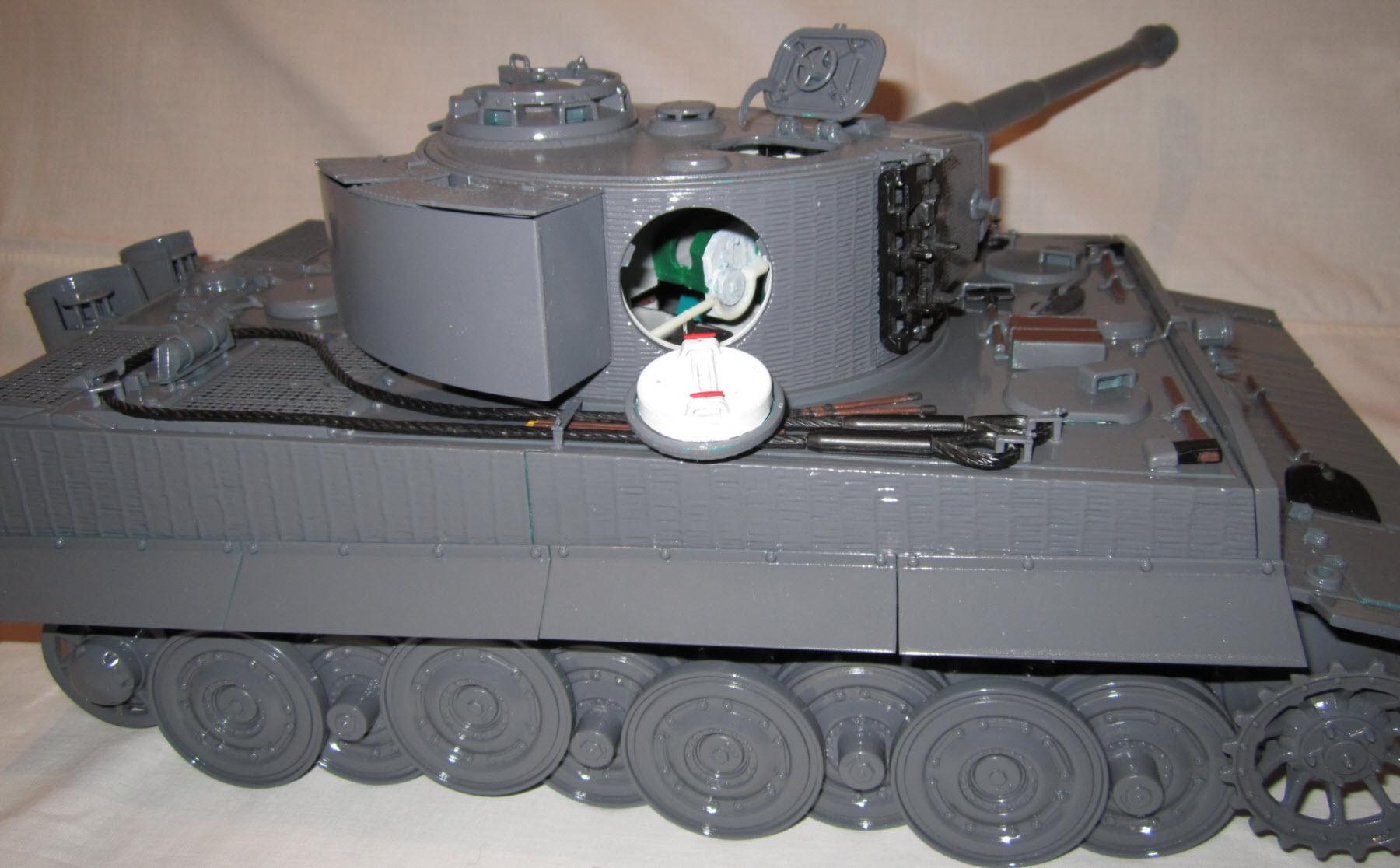 сборка частей модели 02