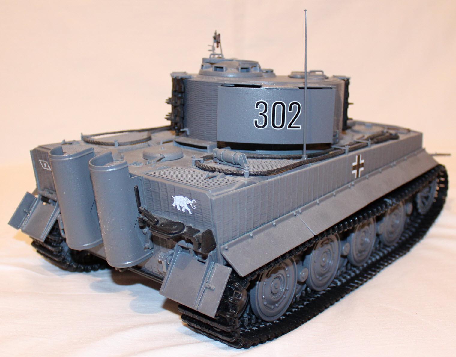 сборная модель тигра 04
