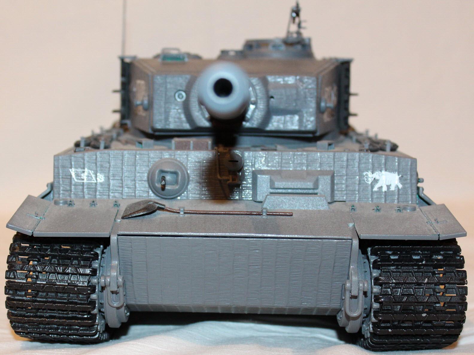 сборная модель тигра 05