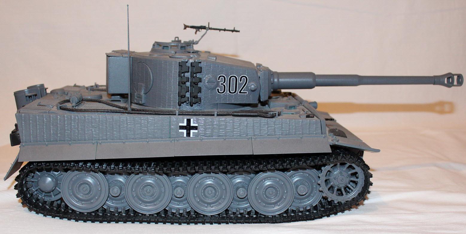 сборная модель тигра 06
