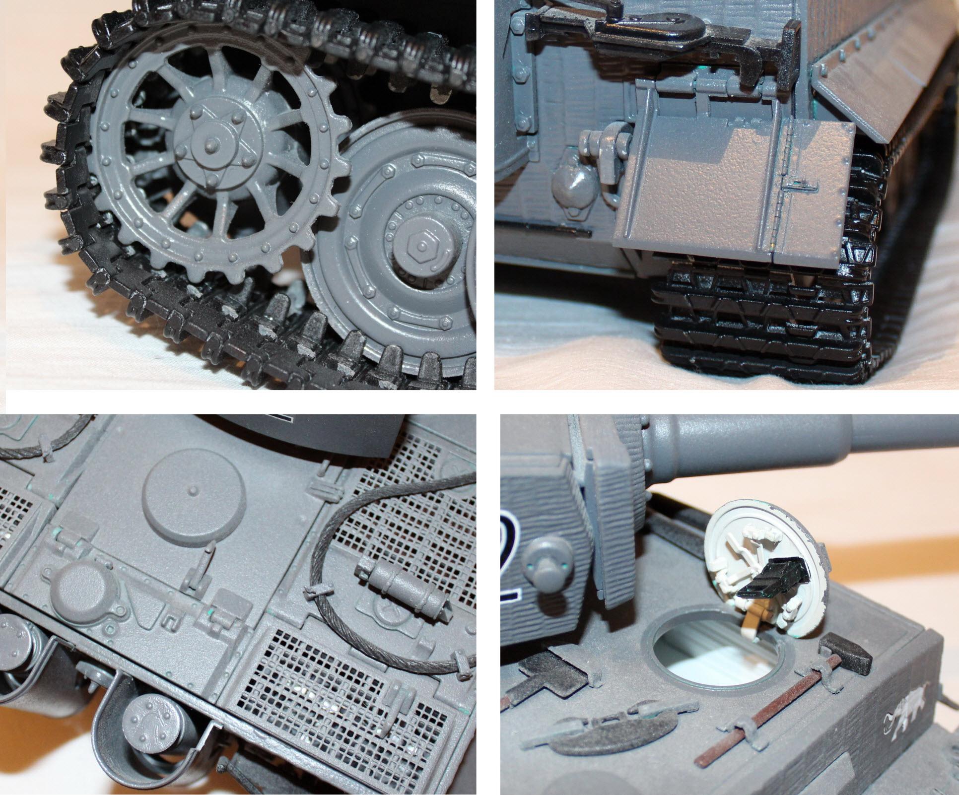 элементы танка