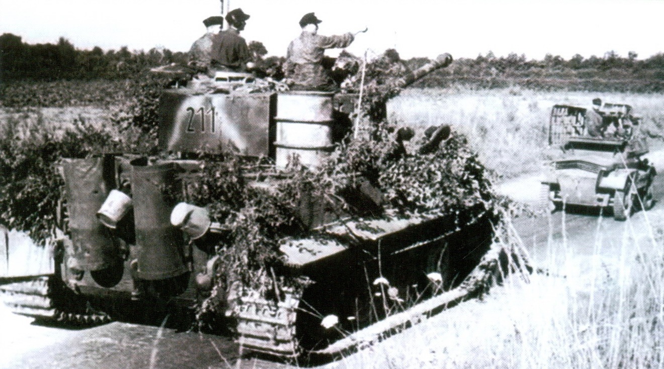 13 «Тигр» 102-го тяжелого танкового батальона