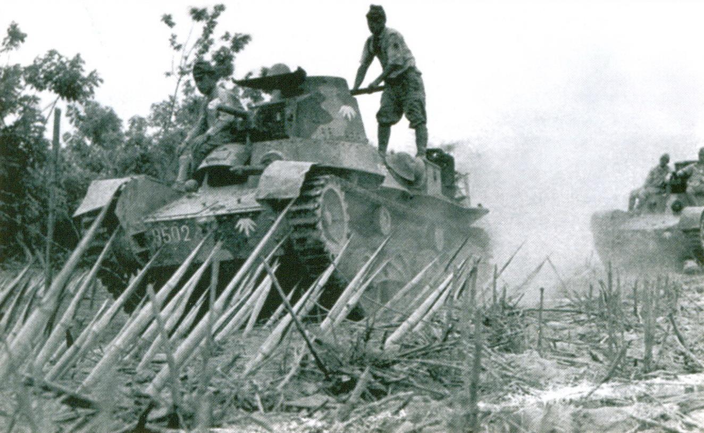 13 Два танка «Ха-Го»