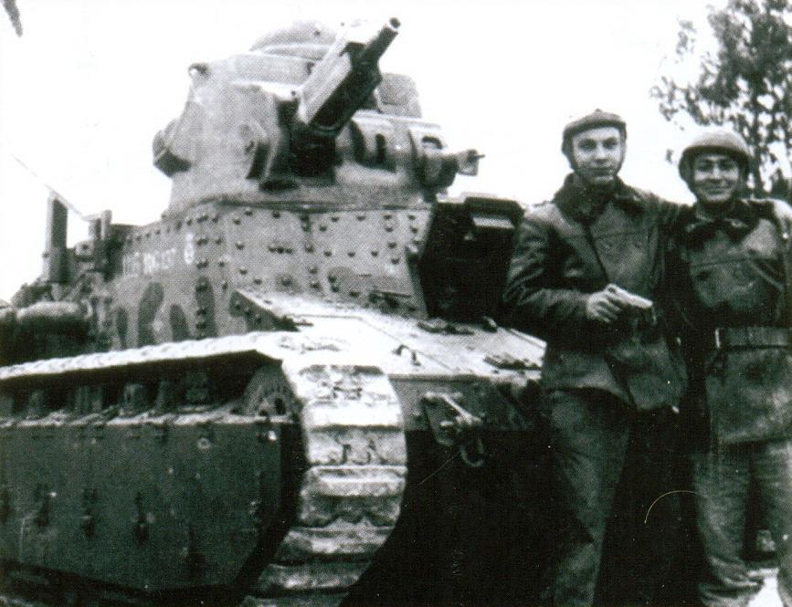 14 танк D1