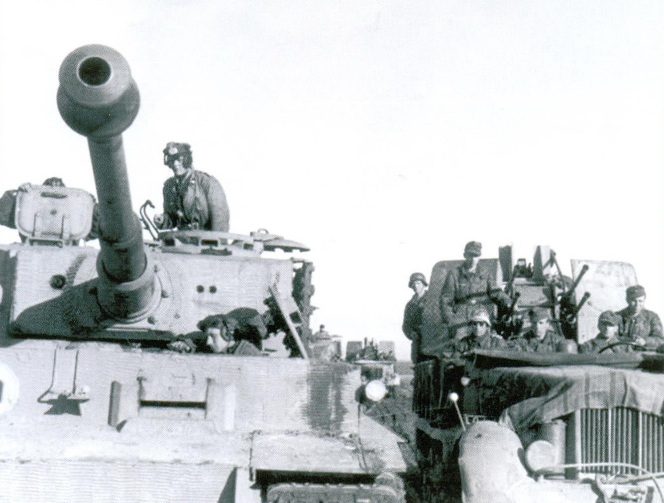 15 «Тигры» 509-го тяжелого танкового батальона