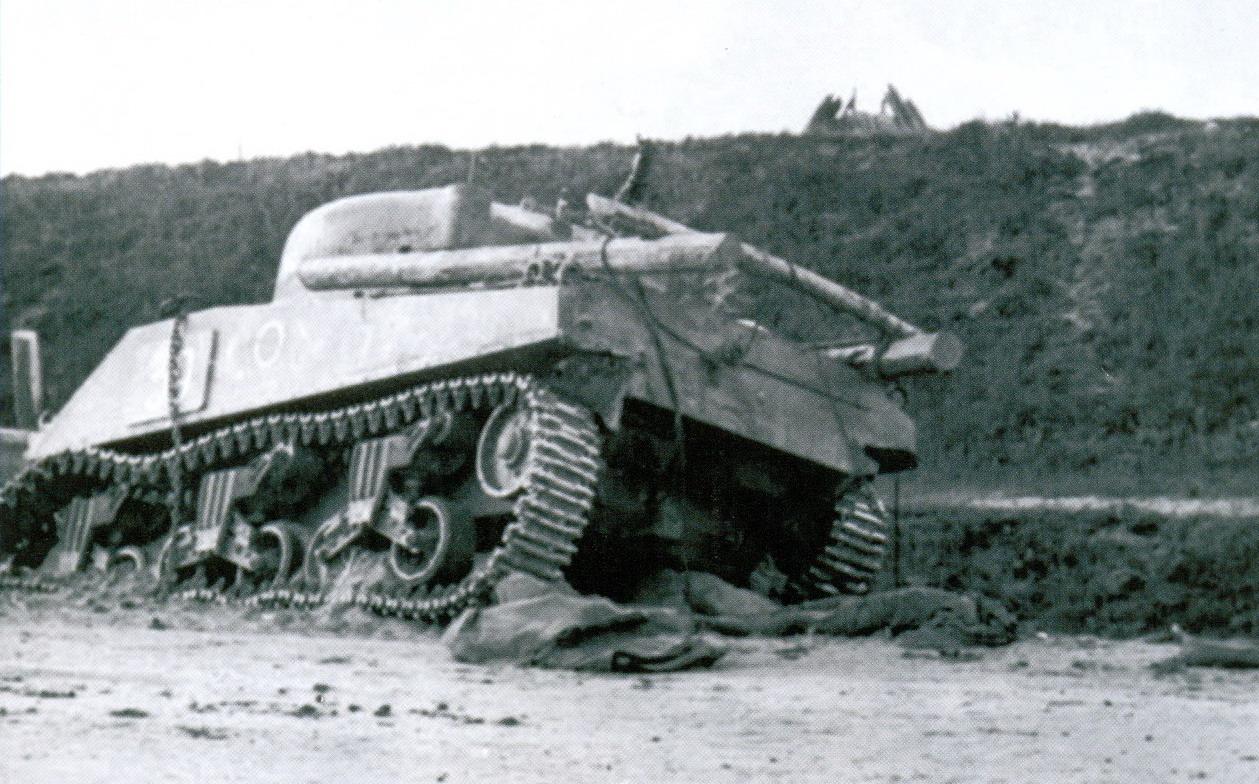 17 танк Шерман