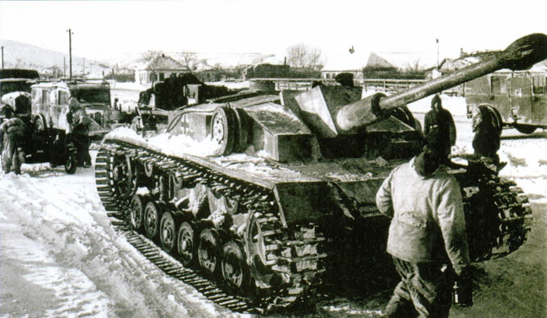 20 САУ_Sturmgeschütz _II