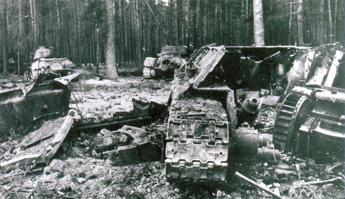 20 обломки Т-34