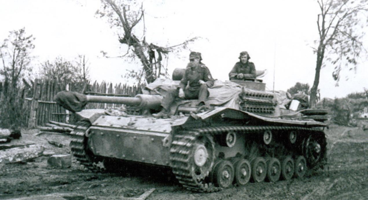 21 Немецкая боевая пушка Sturmgeschutz III