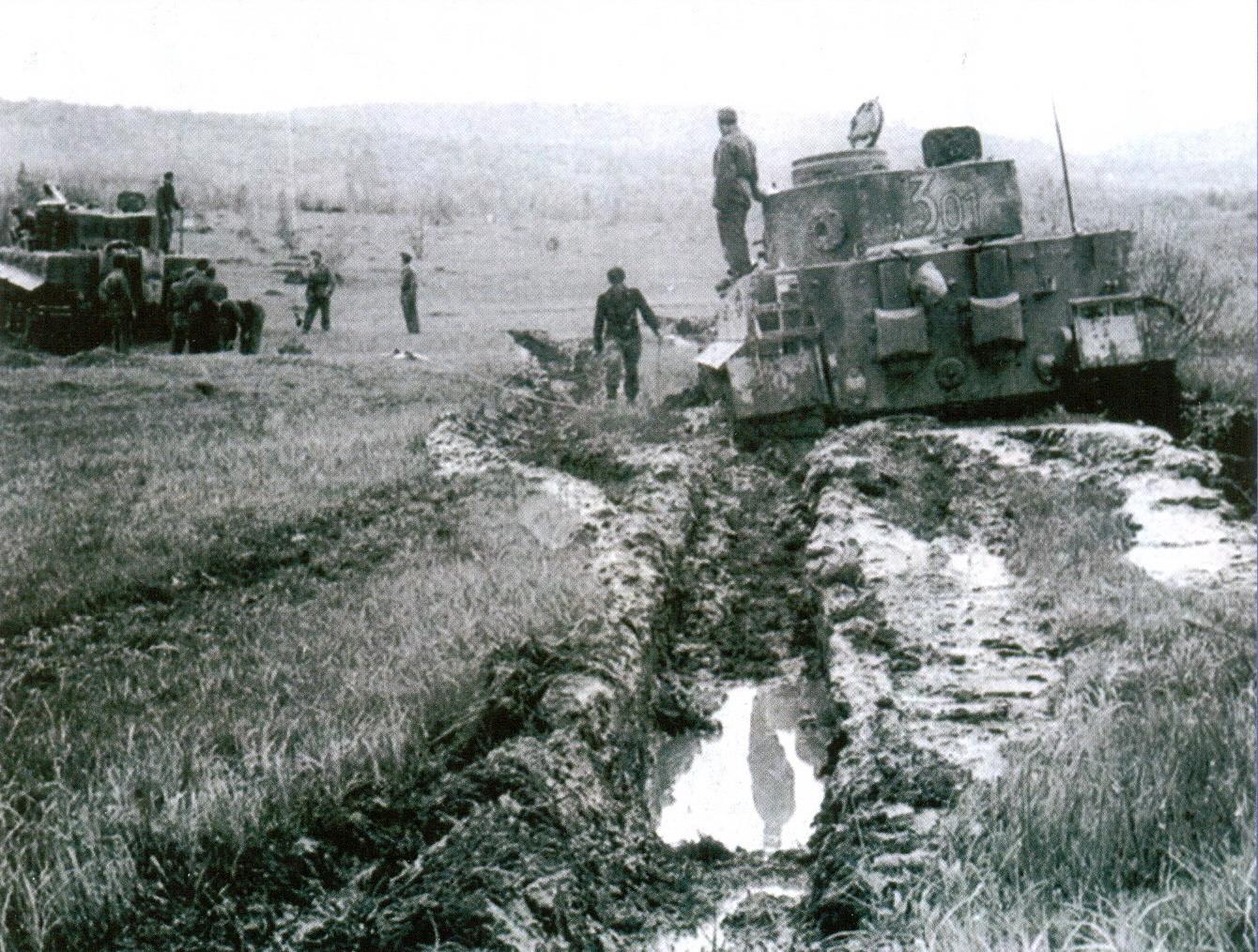 22 «Тигры» 507-го тяжелого танкового батальона