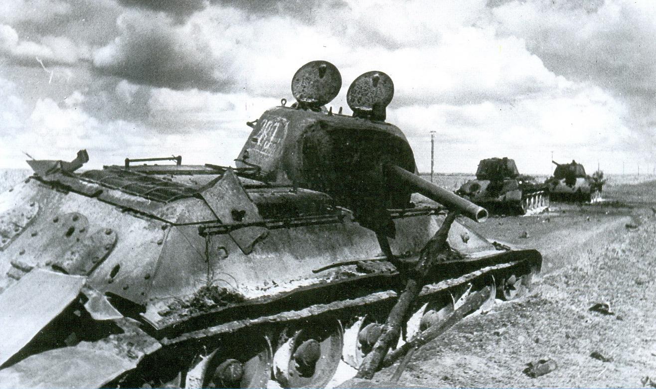 22 подбитые Т34