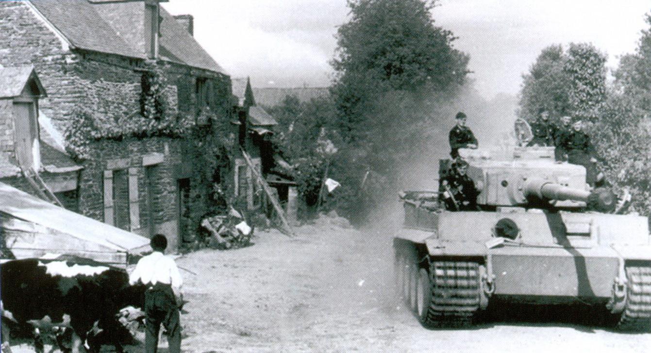 23 Пять человек и один танк