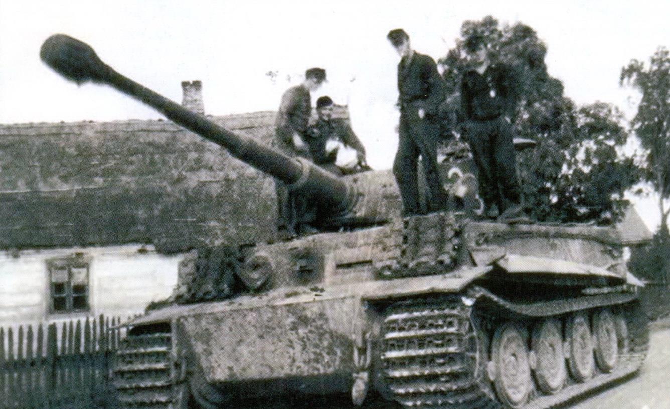 27 Экипаж 507-го тяжелого танкового полка