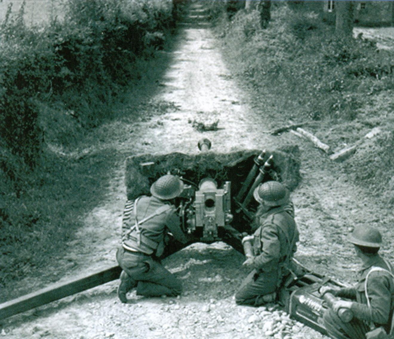 28 Британское противотанковое 6-фунтовое орудие