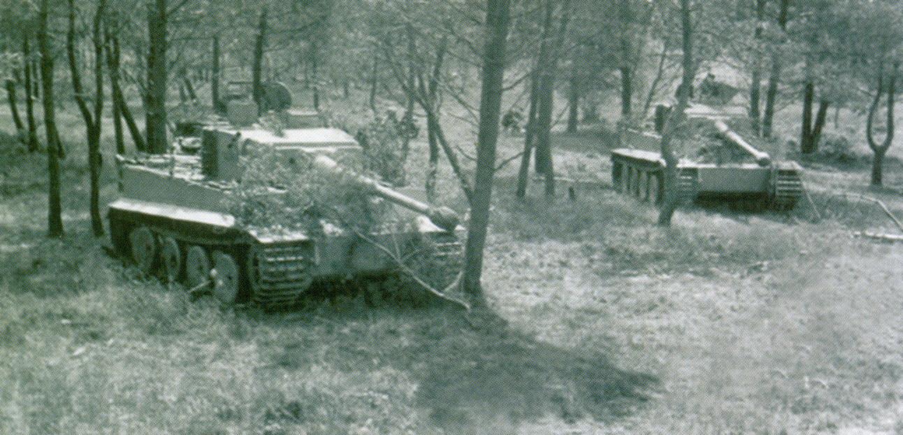 3 «Тигры» 502-го батальона