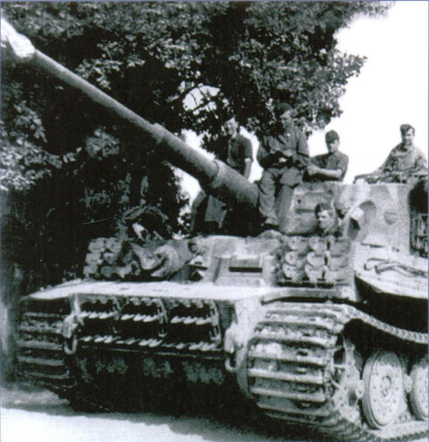 30 «Тигры» 510-го тяжелого танкового батальона