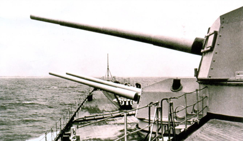 34 «Принц Ойген» в Балтийском море