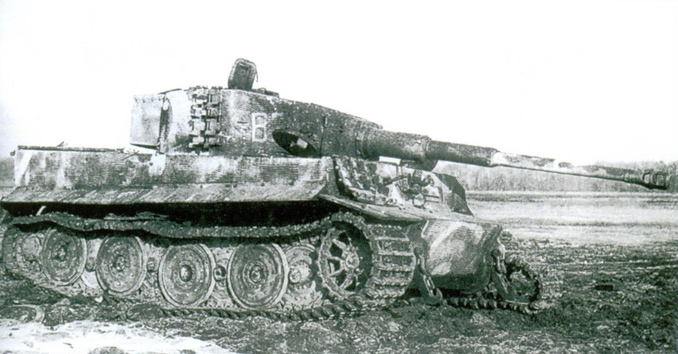 40 Подбитый «Тигр»
