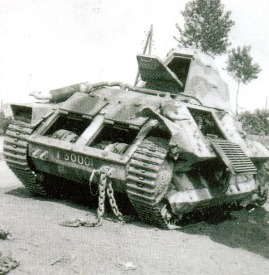 5 Брошенный танк FCM 36