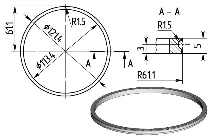 6 Внутреннее кольцо
