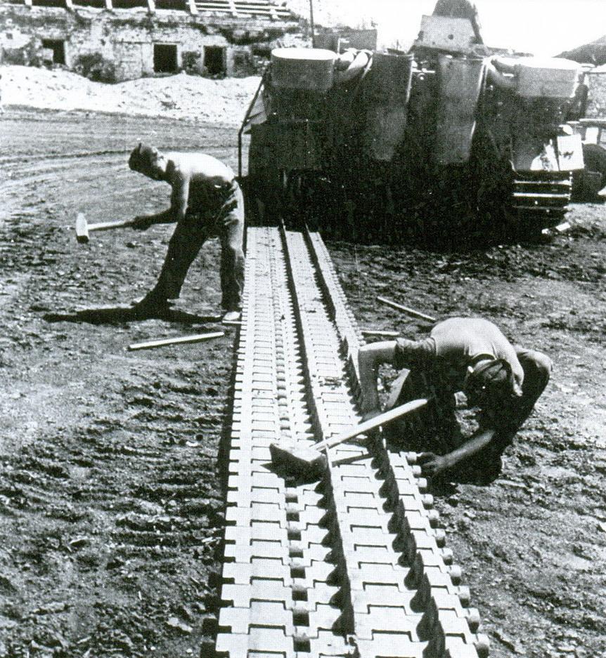 9 гусеница танка тигр