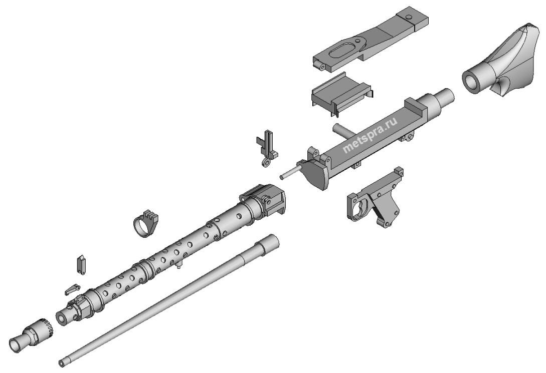 Детали MG-34